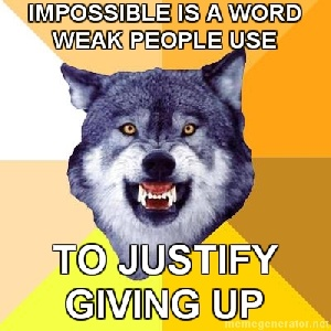 impossible word