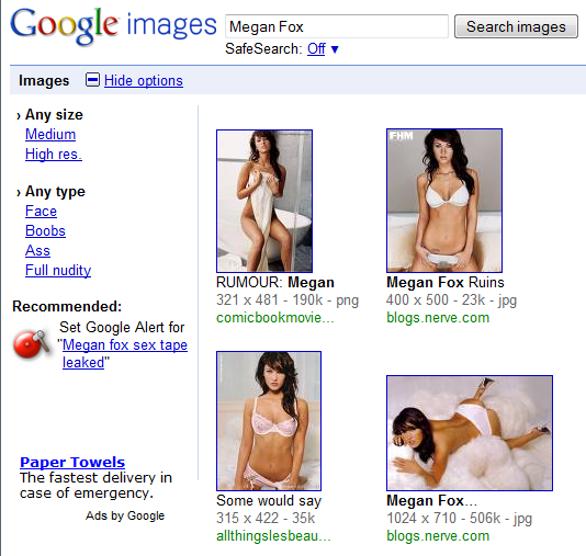 improvement - how to make google image search more useful