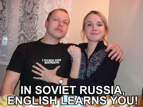 soviet russia english learns