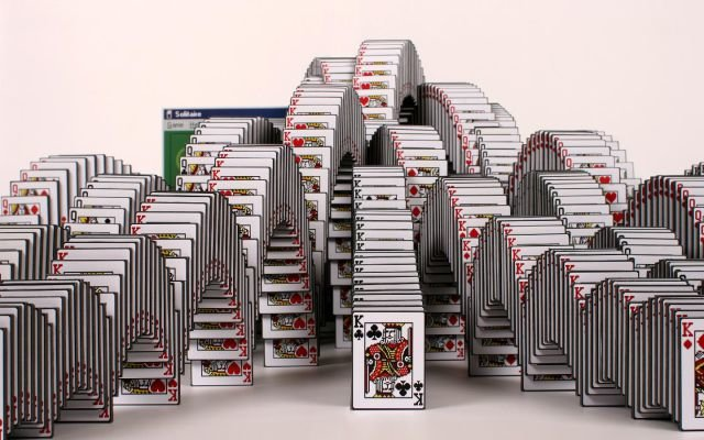 incredible real life solitaire screen