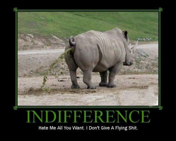 indifference - pics and gifs