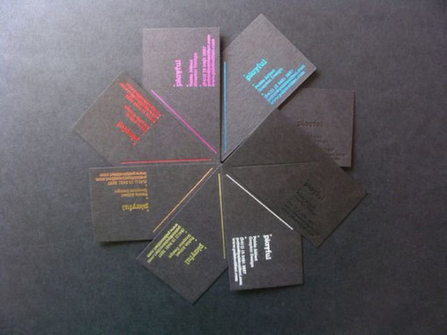 inspiring business cards