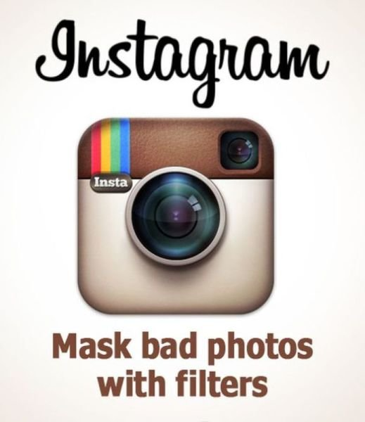 instagram - if company logos would tell us truth