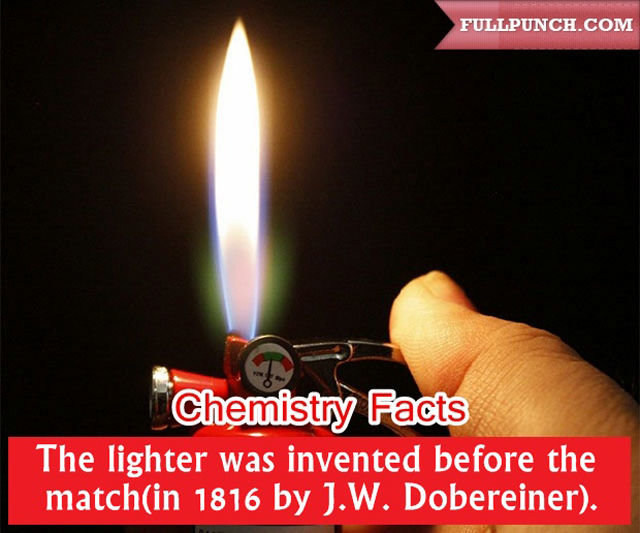 interesting chemistry facts everyone should know