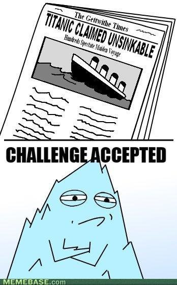 internet memes unsinkable say