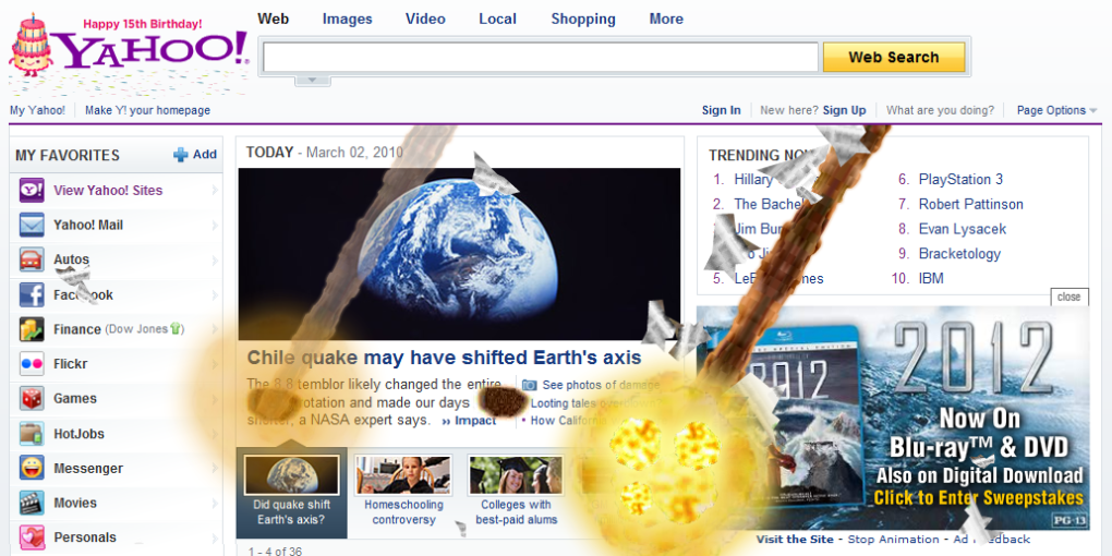 ip2nv - yahoo, that's one creative way to promote 2012