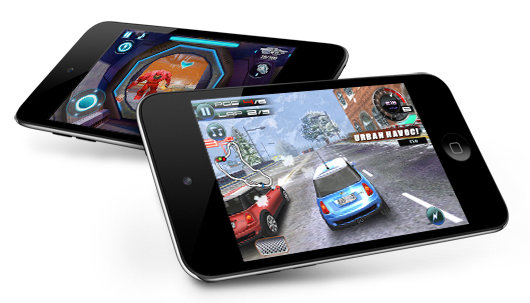 ipodtouch4games - new apple ipod range