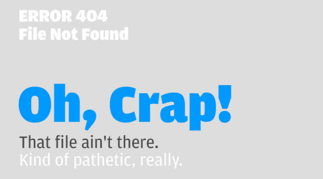 itchyrobot - some of the best 404's