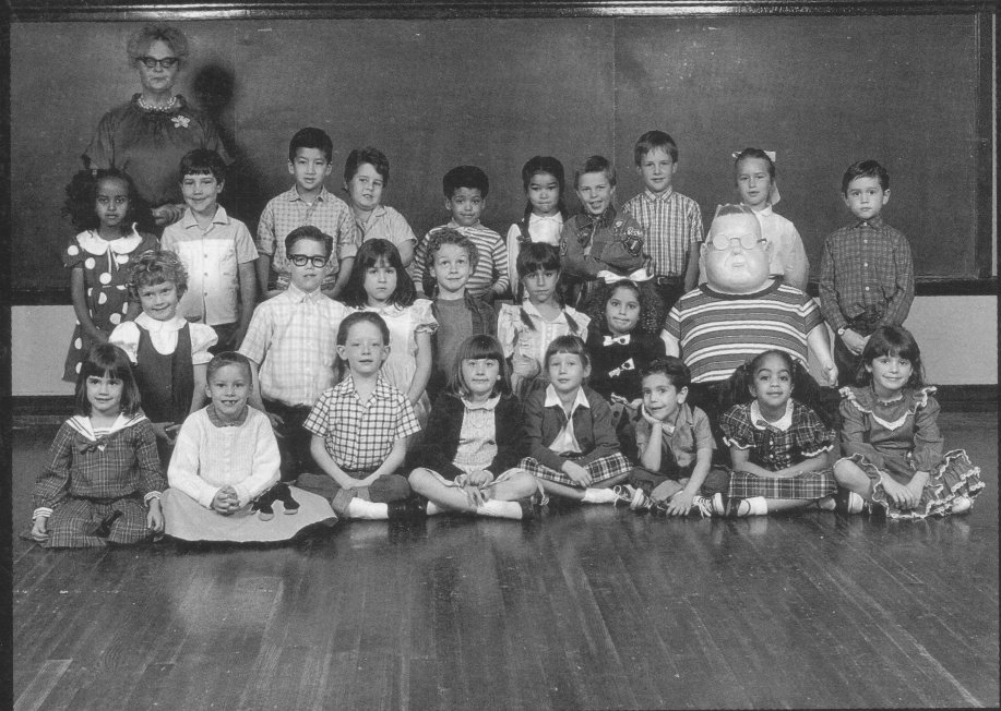 gary larsons class photos thought guys might like hes second from