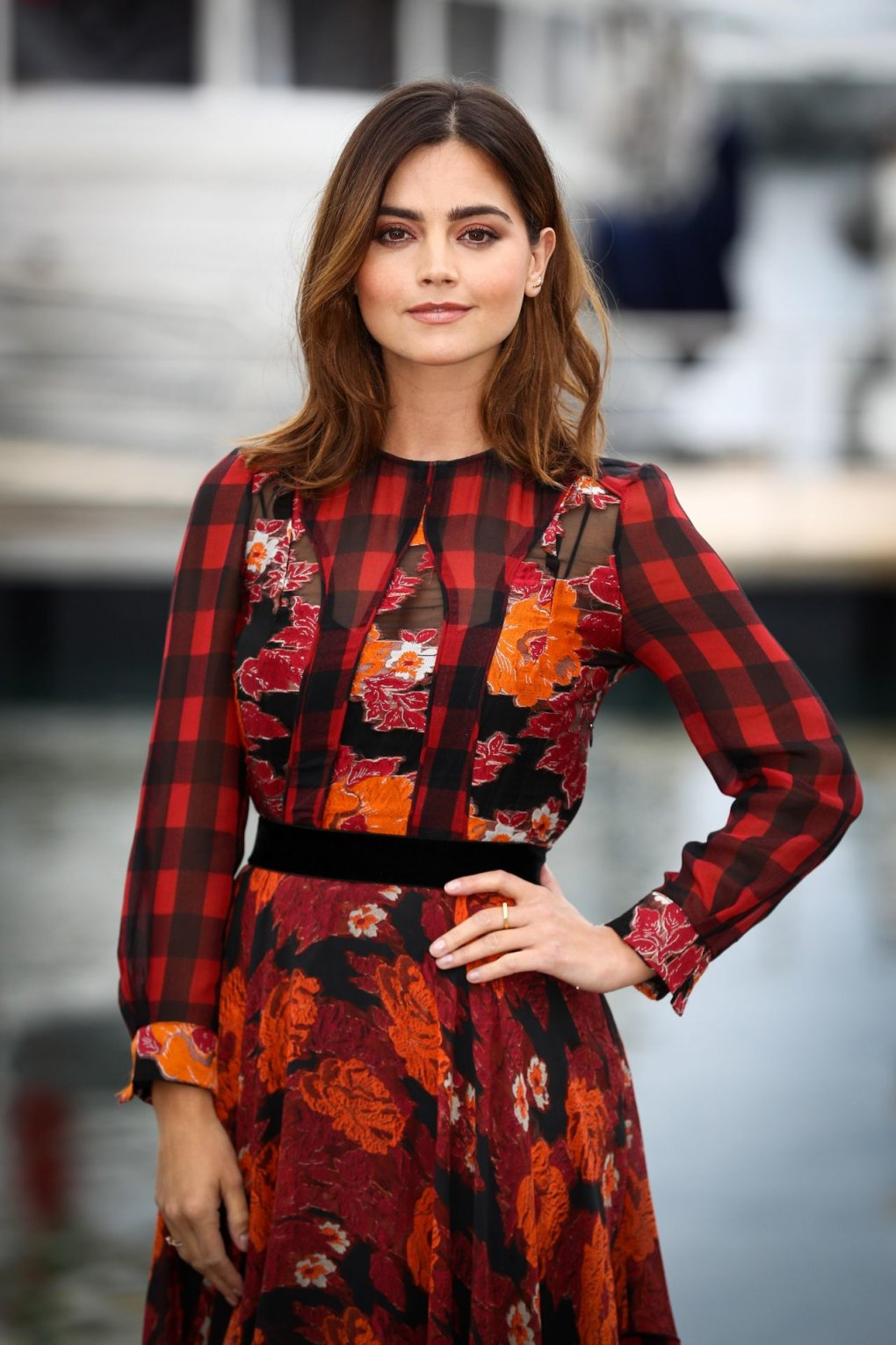jenna louise coleman cannes france