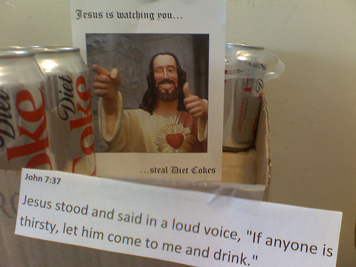 jesus watching