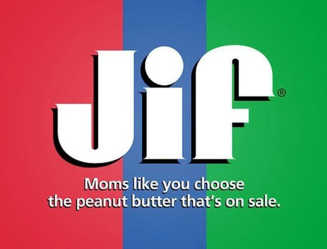 jif - if company logos would tell us truth
