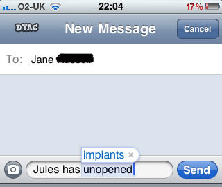 jules implants