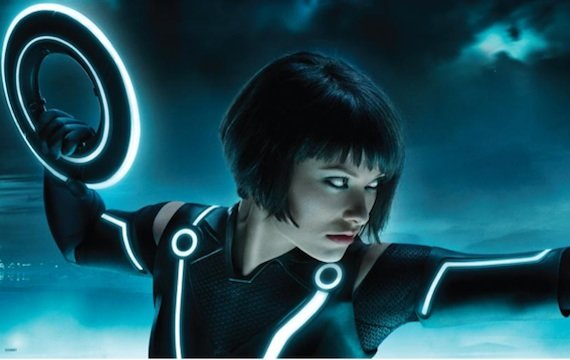 got out tron amazing graphics olive wilde also hottest program hit