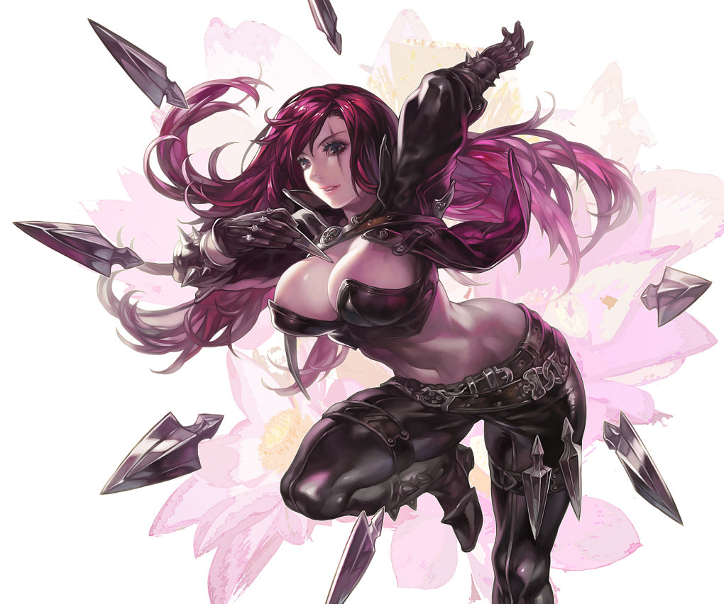 katarina fan art aoinhatsu