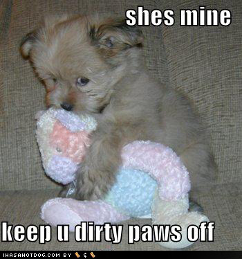 keep dirty paws off