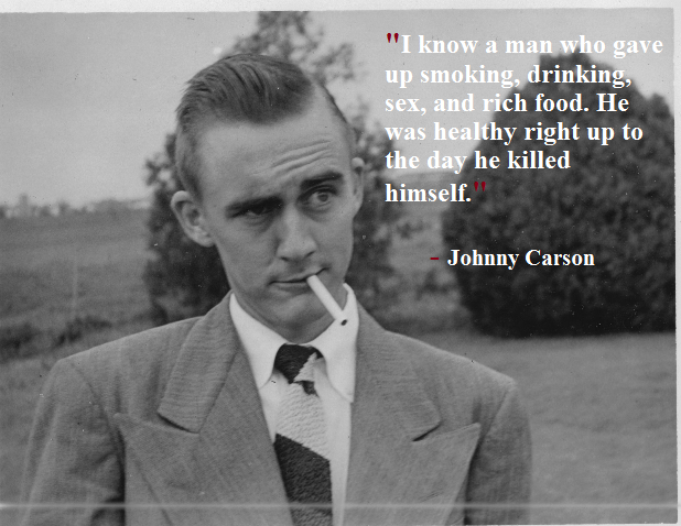know man johnny carson