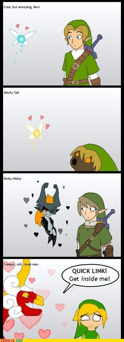 koma comic strip poor link