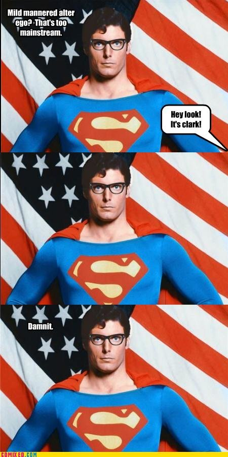 koma comic strip stay away from clarks glasses superman