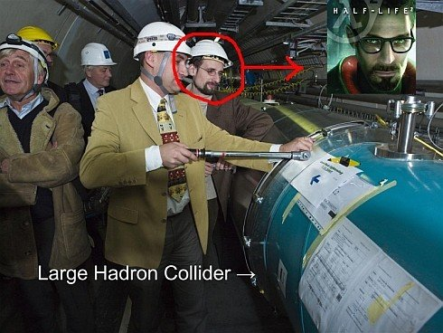 largehadron - cern: exactly as half-life predicted