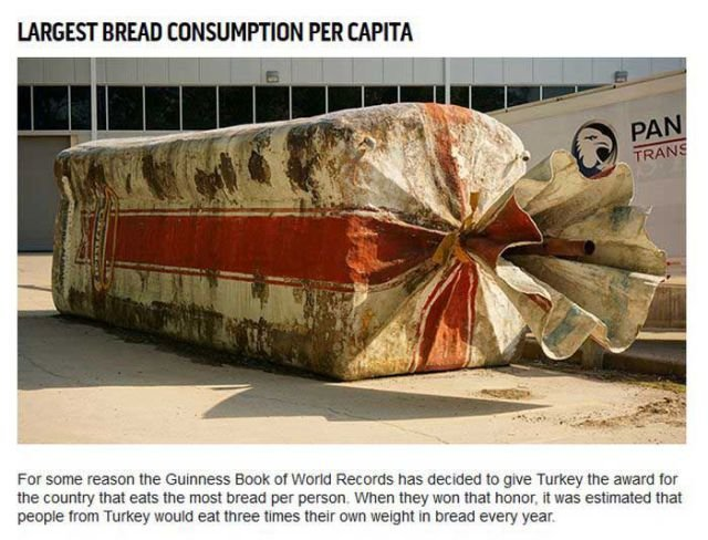 largest bread