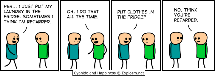 laundry - more cyanide and happiness