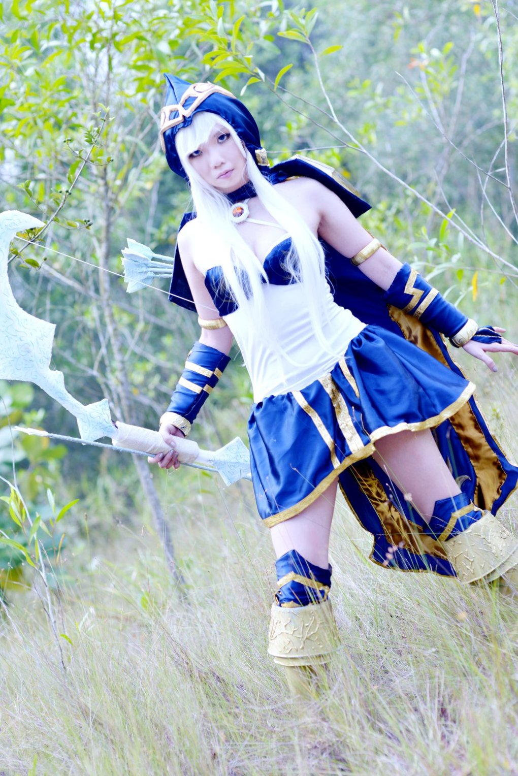 league legends ashe cosplay