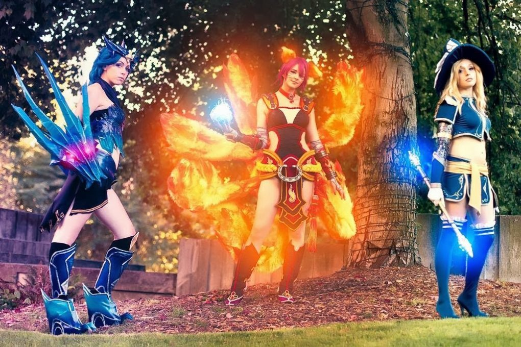 league legends cosplay