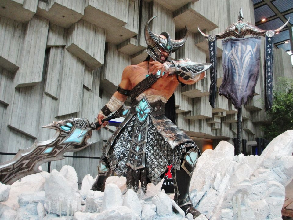 league legends tryndamere cosplay