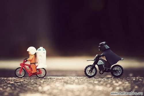 lego darth vader chacing luke black bike jpg