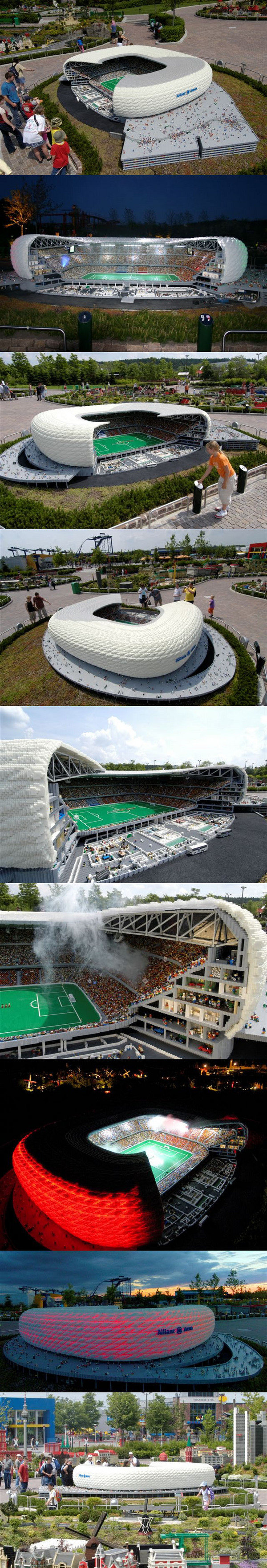 legostadium - ever wanted to see what 1 billion lego's would make you?