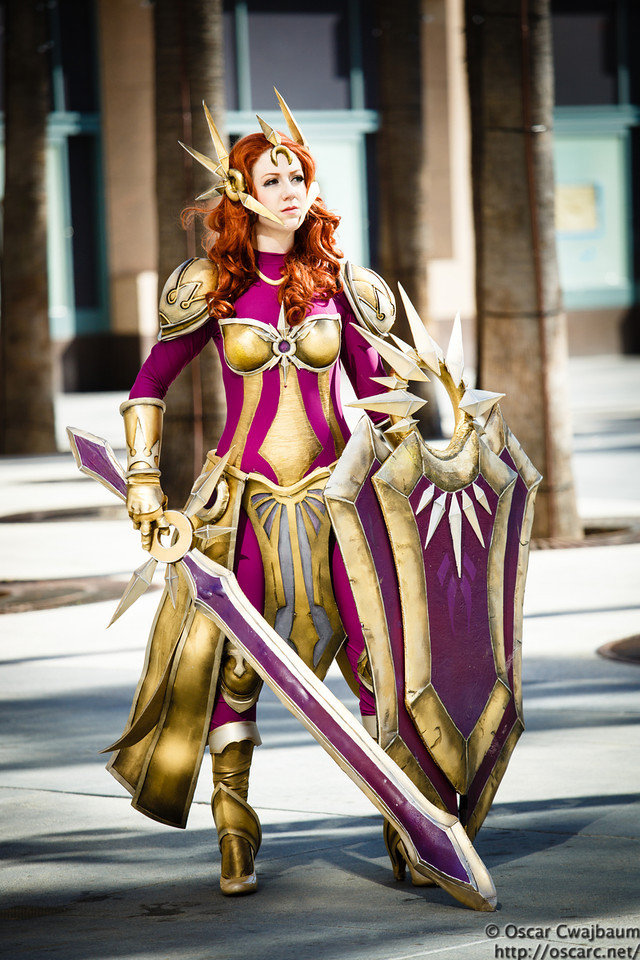 leona - awesome league of legends cosplay