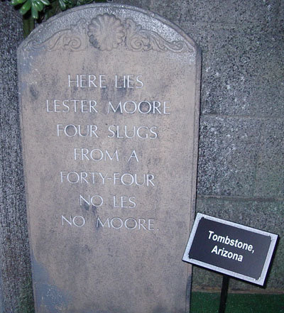 lestermoore - funny tombstones