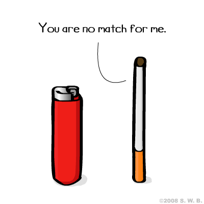 lighter cigarette