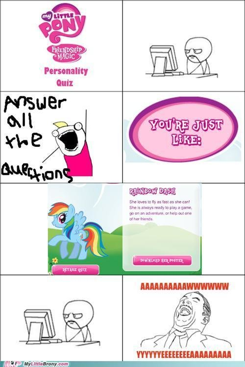 little pony friendship magic brony best quiz