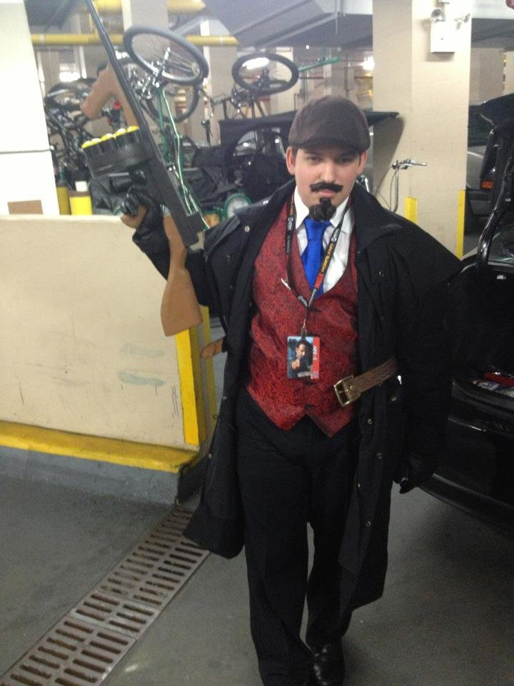 graves cosplay