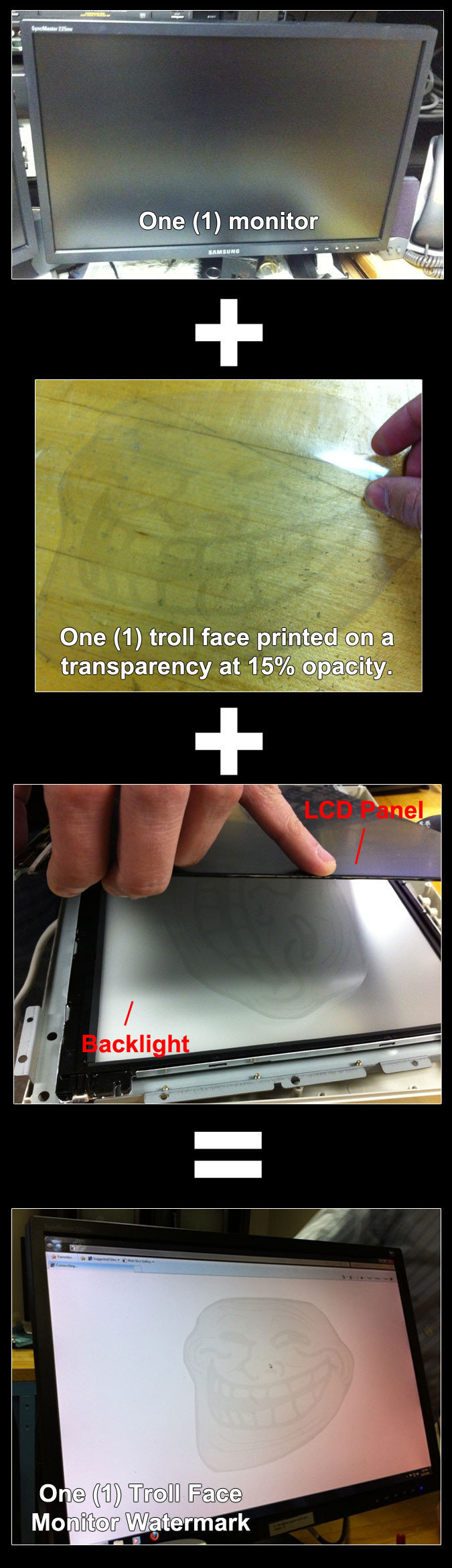 troll your monitor
