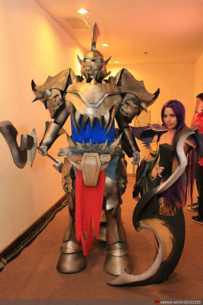 lol hecarim - ultimate league of legends cosplay collection