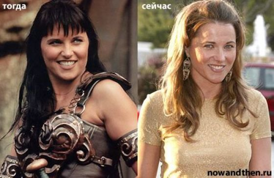 lucy lawless young