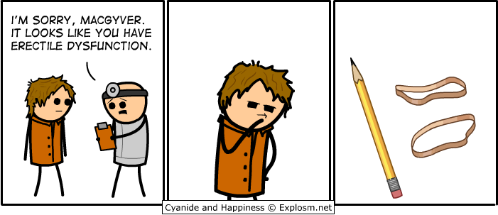 macgyvererectile - 50 more cyanide & happiness comic's