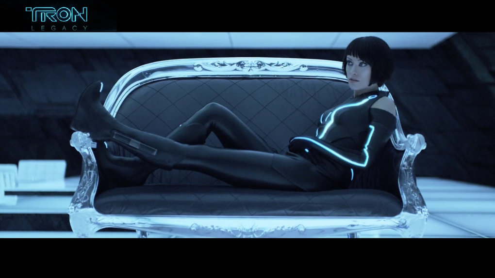 made tron legacy wallpaper what think most bad ass scene movie