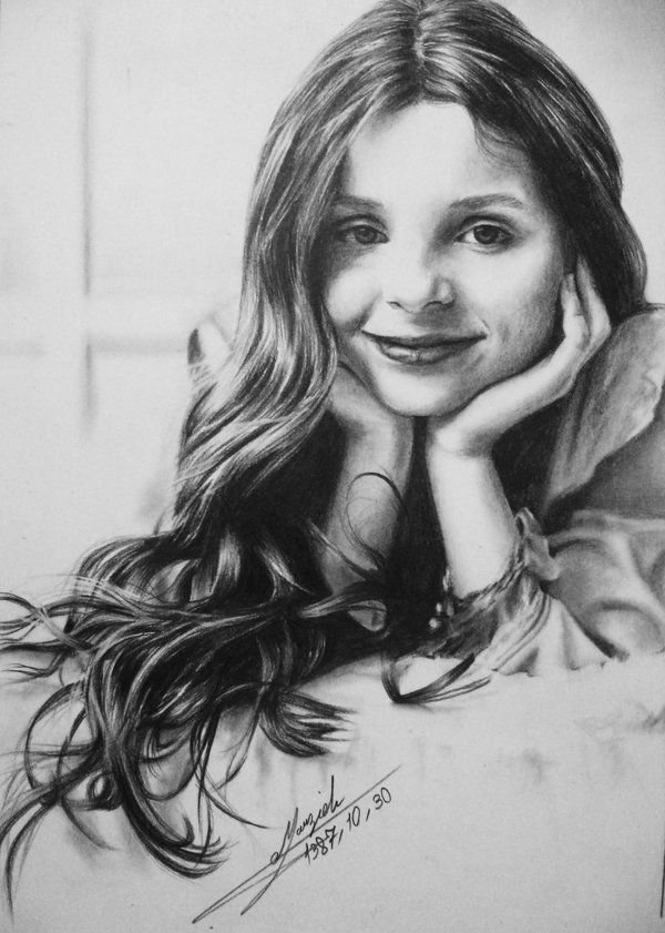 maggy p 19 - pencil drawings of actors