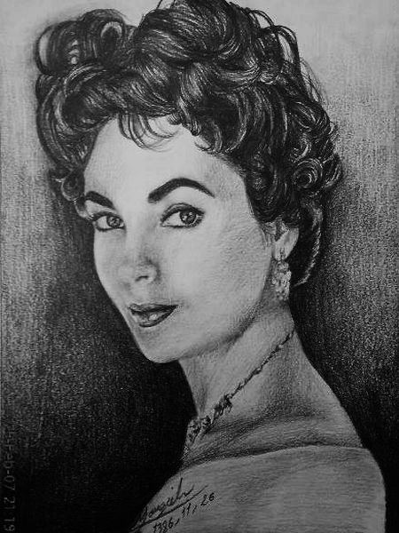 maggy p 23 - pencil drawings of actors