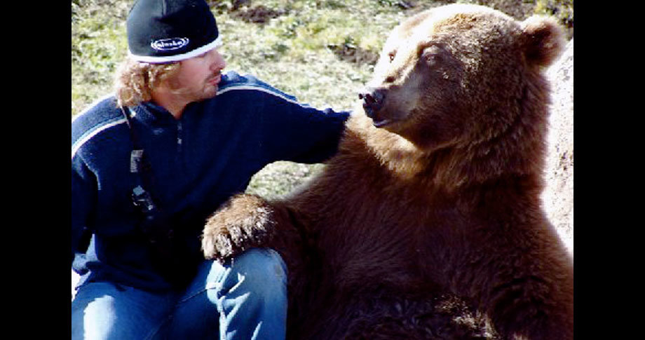 man and bear10 - a man and his grizzly bear