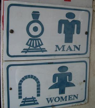 manwoman chuckle worthy signs other signs