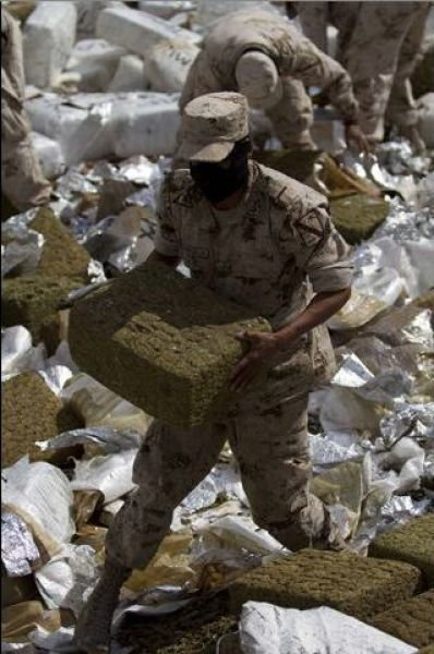 marijuana 640 05 - mexico burns 134 tons of confiscated marijuana