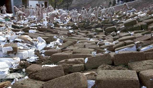 marijuana 640 06 - mexico burns 134 tons of confiscated marijuana