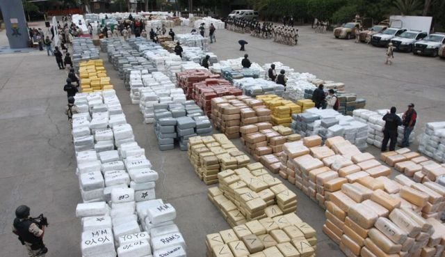marijuana 640 07 - mexico burns 134 tons of confiscated marijuana