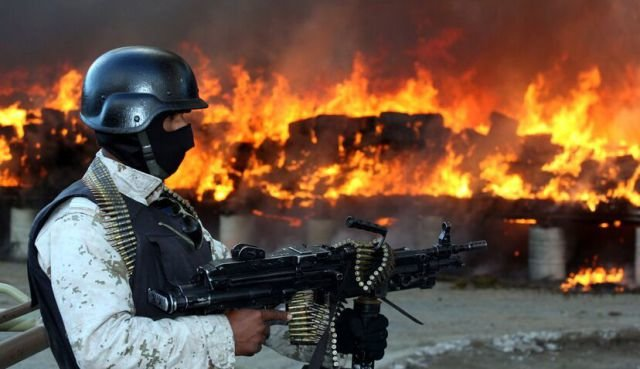 marijuana 640 11 - mexico burns 134 tons of confiscated marijuana