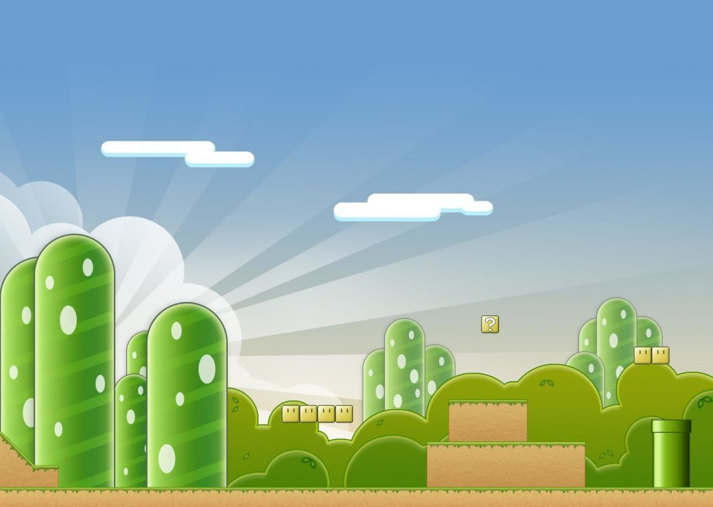 mario world epic wallpaper collection